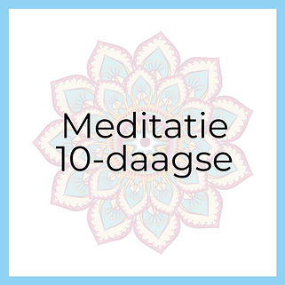 Meditatie 10daagse Hurray for Today Coac