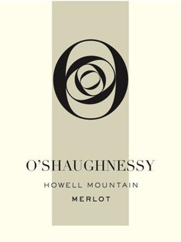 O'Shaughnessy Estate Howell Mountain Merlot 2013