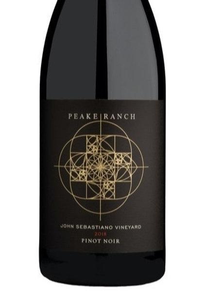 Peake Ranch John Sebastiano Vineyard Pinot Noir 2018
