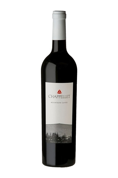 Chappellet Winery Mountain Cuvée Proprietor's Blend 2018