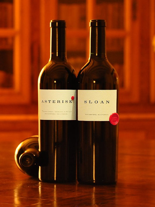 SLOAN ESTATE, ASTERISK Proprietary Red 2016