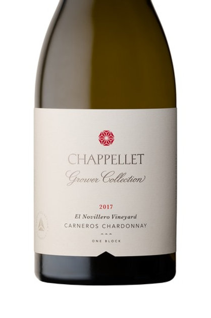 Chappellet Winery Grower Collection El Novillero Chardonnay 2017
