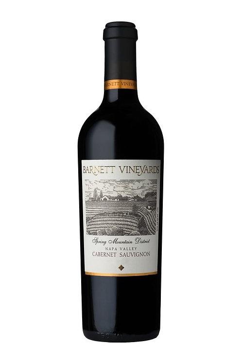 Barnett Vineyards Spring Mountain District Cabernet Sauvignon 2018