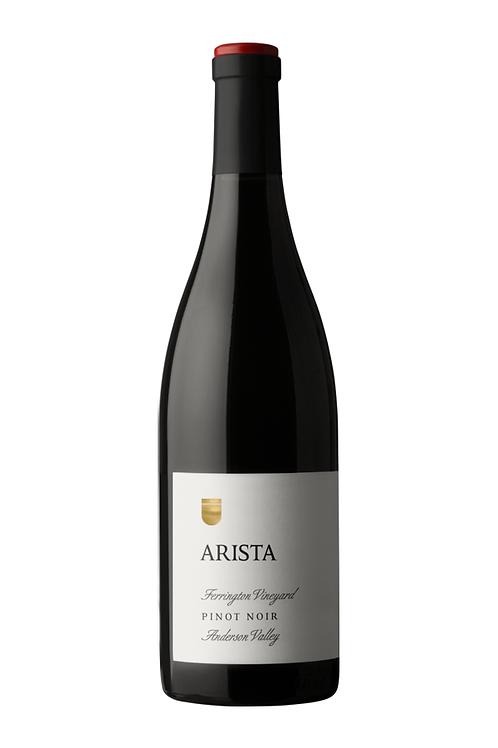 Arista Winery Ferrington Vineyard Pinot Noir 2018