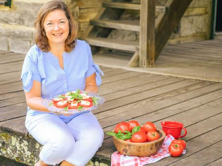 Under the Apron Strings: Caprese Salad