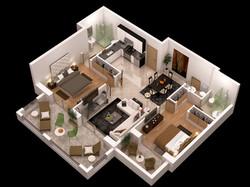 detailed-floor-plan-3d-3d-model-max-obj