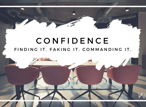 March #WTCweek | Confidence: Finding it, Faking it, Commanding it
