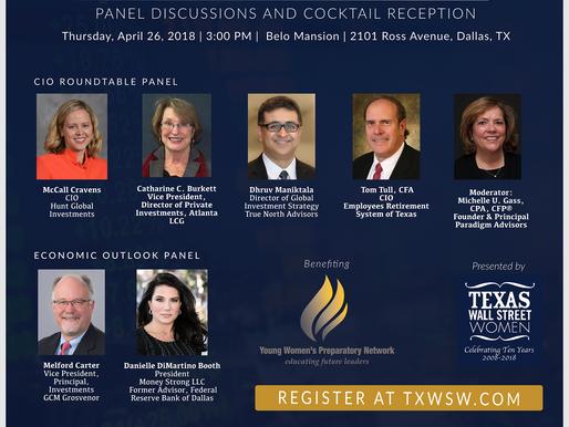 Q2 Featured Coalition Partner Events |  Texas Wall Street Women