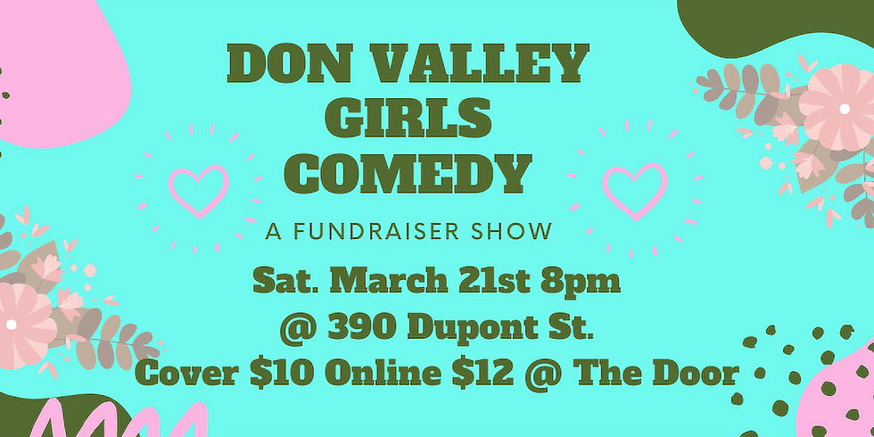 COMEDY NIGHT - MARCH 21ST 2020