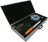 turbo digger in tool box with accessory and insert spade