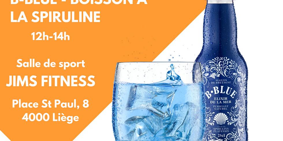 Test&Plug - B-Blue, boisson 100% naturelle à la spiruline (1)