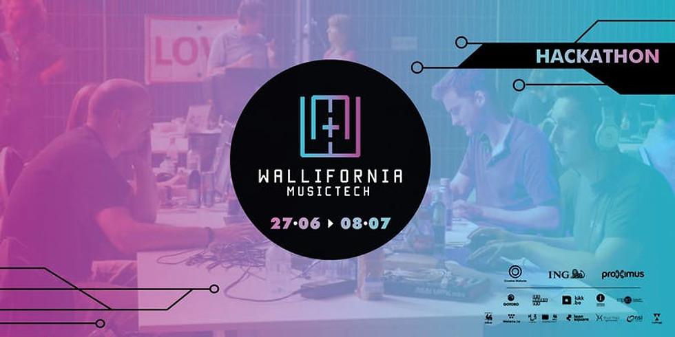 Hackathon MusicTech / Wallifornia MusicTech