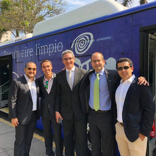 Primer bus eléctrico en Lima