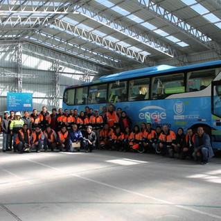 Primer bus eléctrico en Perú