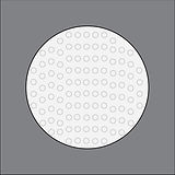 pebble convex lense b. famous on stage magic application