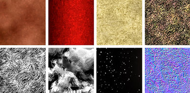 material samples b. famous on stage magic application materials editor