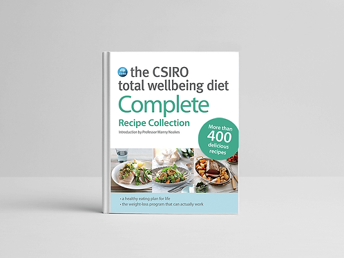 The CSIRO Total Wellbeing Diet Complete Recipe Collection Book
