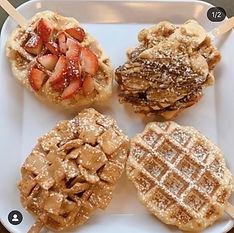 Liege Waffle Pops