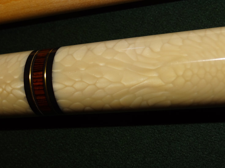 Cocobolo with Snake Juma, Brass.  Sold, can make to your specs.