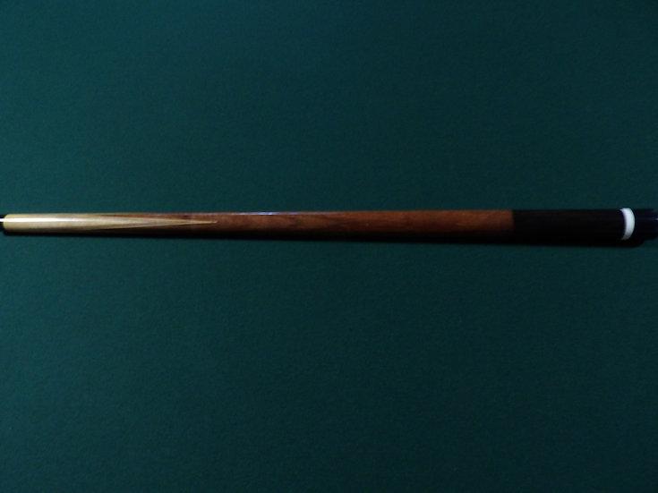 "Brunswick Willie Hoppe conversion, figured Koa/Maple 60"", 18oz"