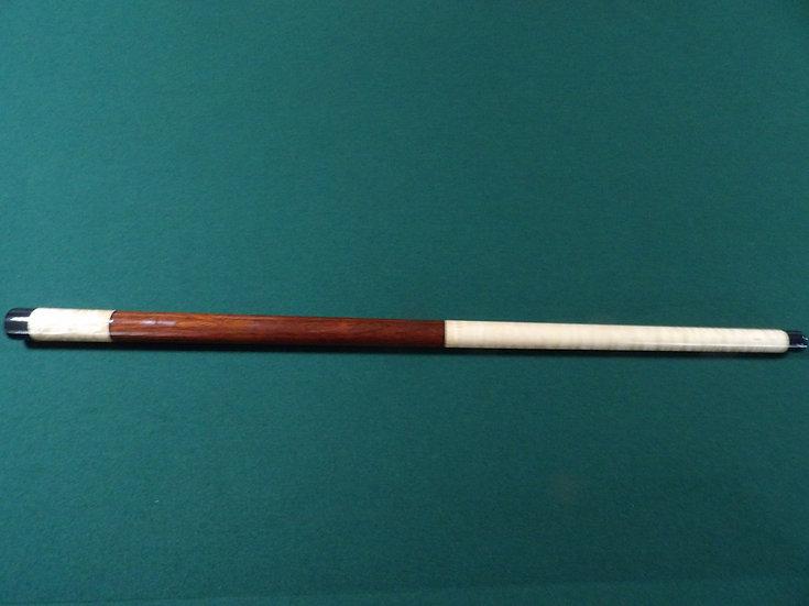 """Curly Maple/Paduak/Birds Eye Maple.  60"""", 17 oz"""