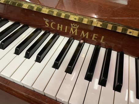 Schimmel K 122 E Mahonie (SILENT)