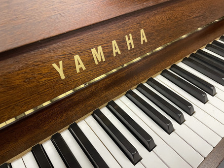 Yamaha MP70 donker noten (SILENT)