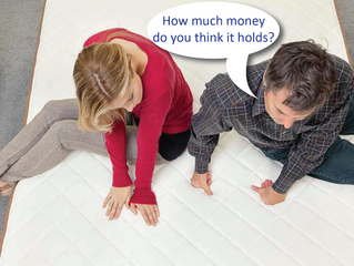 Should you keep money under the mattress?