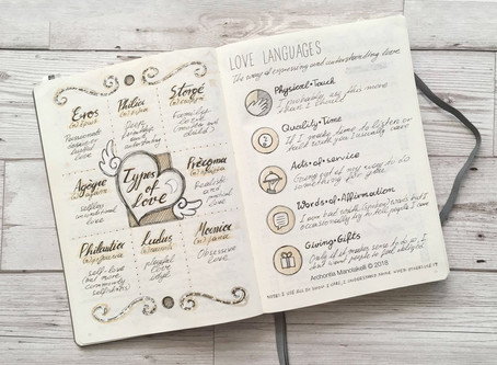 Bullet Journals + A new way to plan