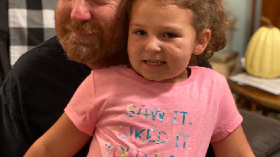 Told Papa Got it shirt