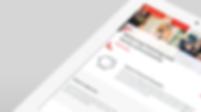 Santander tablet website