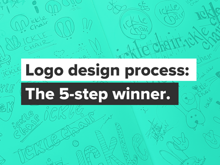 Logo design: The 5-step process.