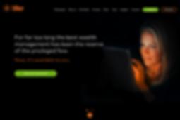 Tiller home page design