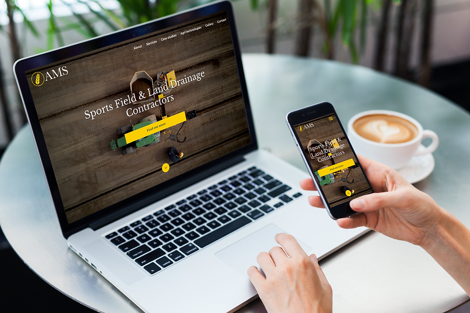AMS Contracting website design