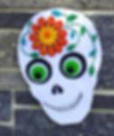 004 Felt Sugar Skull 2018.jpg