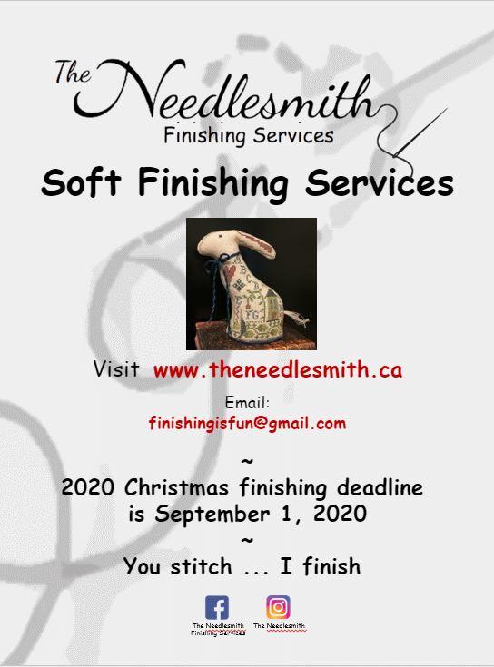 The Needlesmith 2020 flyer