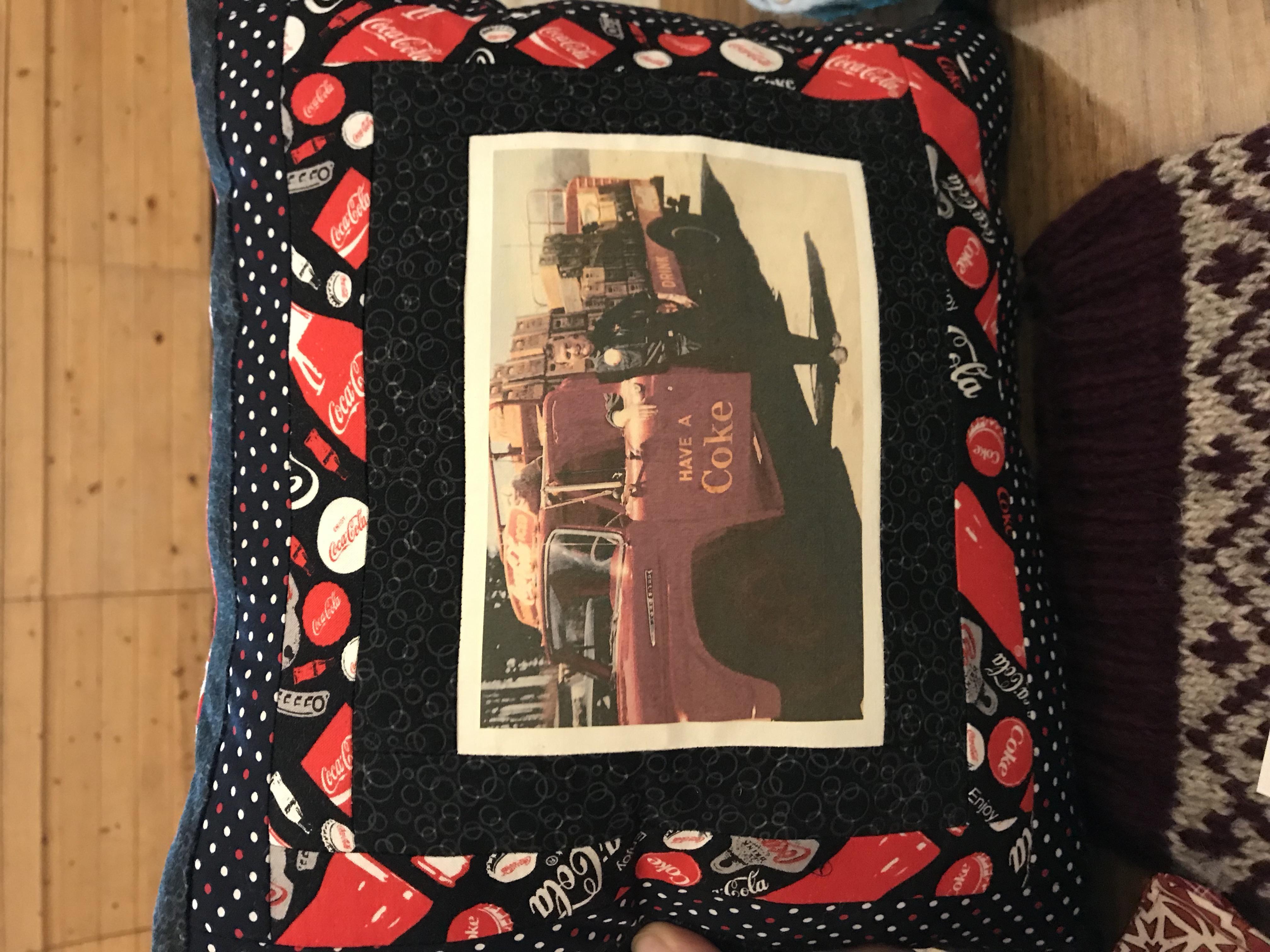Sherri's Coke Pillow