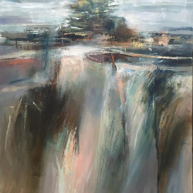 Oil on canvas 70x60cm