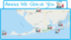 Service Areas coastalgolfcartrental.com