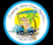 Logo of www.coastalgolfcartrental.com, orange beach, ono island, gulfshores, gulf shores, perdido beach, foley, fort morgan, flora bama, golf cart rentals, golf carts, carts, vacation, beach