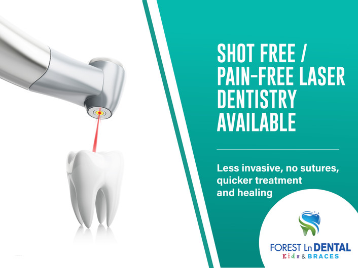 Forest Lane Dental_Shot Free / Pain - Free laser Dentistry