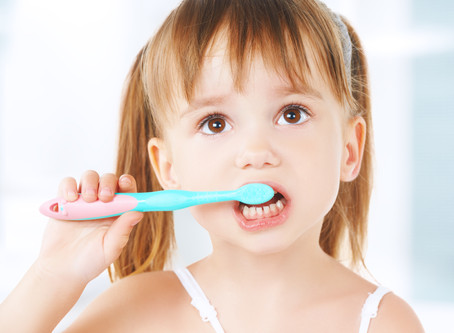 Tooth brushing Tips For Tots, From Your Lewisville Dentist - Revive Dental