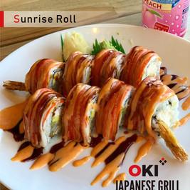 OKI Japanese Girll_Sunrise Roll