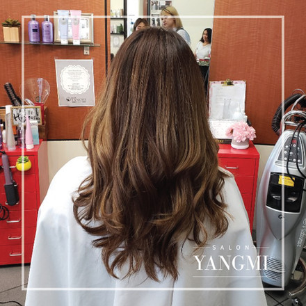 Regular Perm | Salon Yangmi - 9620 N Milwaukee Ave, Niles, IL 60714 / (847) 827-2662