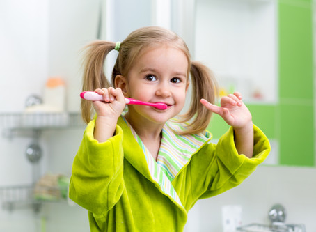 Tooth brushing Tips For Tots, From Your Auburn Dentist - Shaun Lee, DDS