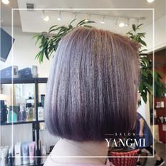 Purple Grey Ombre