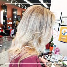 Light Beige Blonde Balayage
