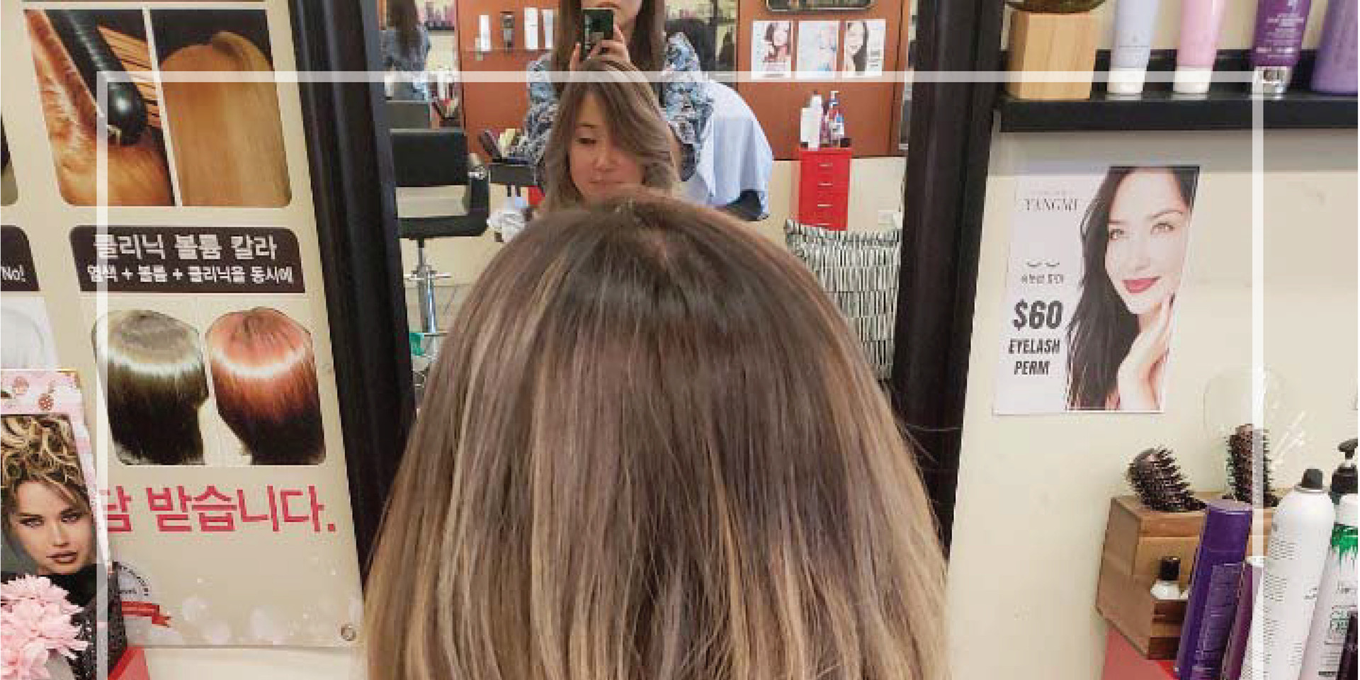 Light brown Balayage ombre_yangmi galler