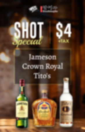 Dansungsa_ $4 Shot Special - Dansungsa Karaoke and Bar & Korean Food 2540 Old Denton Rd #300 Carrollton, TX 75006.jpg