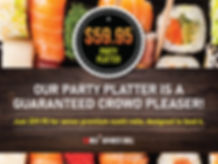 OKI Japanese Grill_Party Platter $59.95.